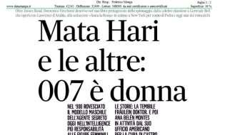 Mata Hari e le altre: 007 è donna