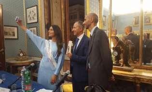 """Miss Italia nel libro """"Dopoguerra"""""""